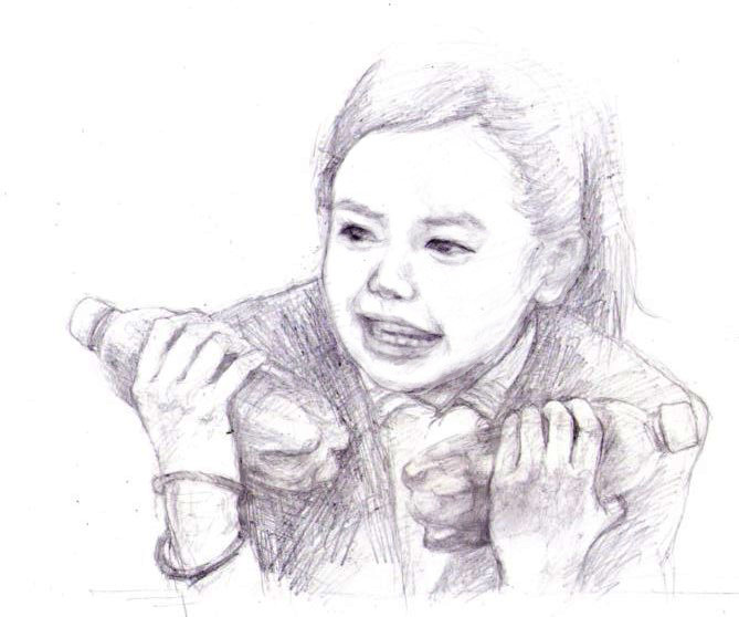 まれ絵 #一子のイラスト