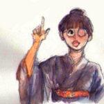 「あさが来た」 田村宣役・吉岡里帆のイラスト