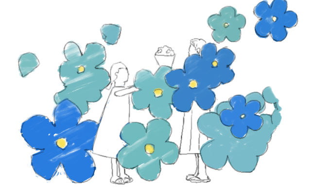 花束を君に オープニング 最後の場面