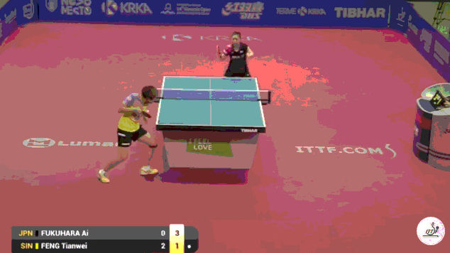 リオ五輪 卓球女子シングルス 準々決勝