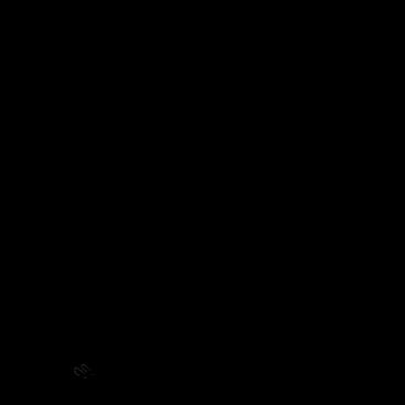 デブ猫(L)挨拶のイラスト