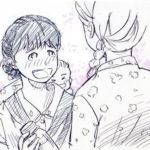 べっぴんさん絵 イラスト すみれと赤ちゃん